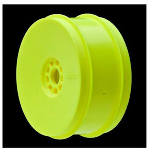 AKA 1:8 BUGGY EVO WHEELS YELLOW (4 PCS)