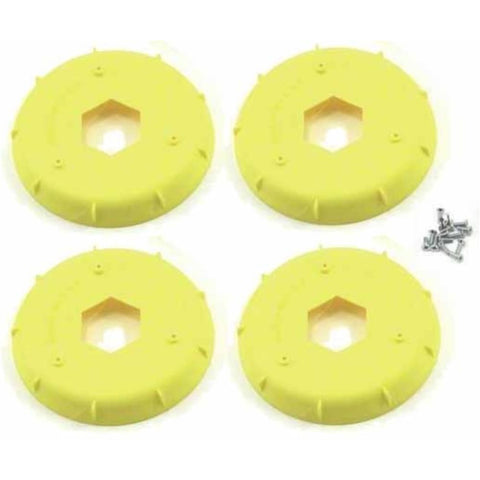 AKA STIFFENER FOR BUGGY EVO WHEEL YELLOW (4 PCS)