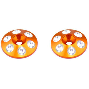 ARROWMAX Alu Rear Wing Shims (Orange) (2)(AM-030101)