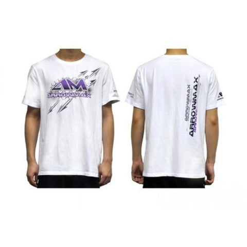 ARROWMAX T-Shirt 2014 Arrowmax - White  (XL)(AM-140214)