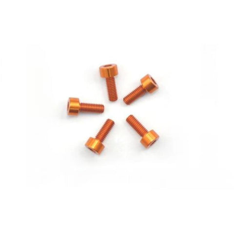 ARROWMAX Alu Screw Allen Cilinder Head M3X8 Orange (7075) (5) (AM-14CH3008-O)