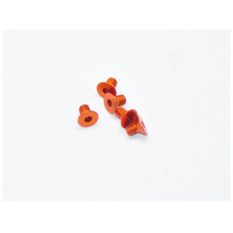 ARROWMAX Alu Screw Allen Countersunk M3X5 Orange (7075) (5)(AM-14CS3005-O)