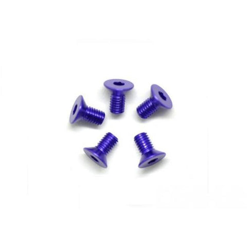ARROWMAX Alu Screw Allen Countersunk M3X6 Purple (7075) (5)(AM-14CS3006-P)