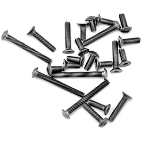 ARROWMAX Titanium Screws Set For Yokomo B-MAX4 (23)(AM-151011)