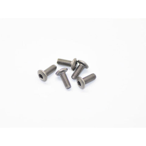 ARROWMAX Titanium Screw Allen Round Head M4X10 (5)(AM-15RH4010)