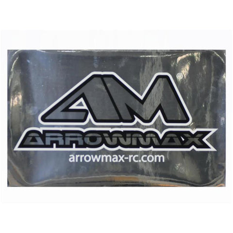 ARROWMAX AM Decal X ( 25 X 40 CM)  Silver(AM-199104)