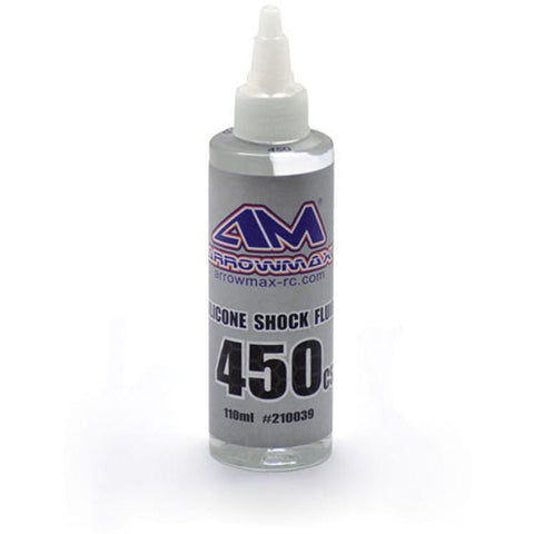 ARROWMAX Silicone Shock Fluid 110ml 450 cst (AM-210039)