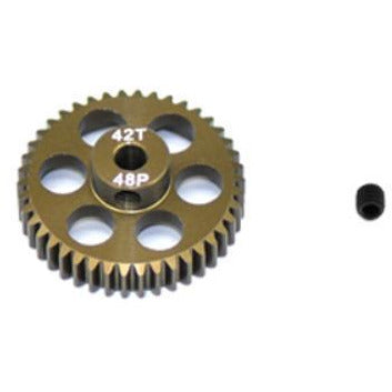 Image of ARROWMAX Pinion Gear48P 42T(7075 Hard)(AM-348042)