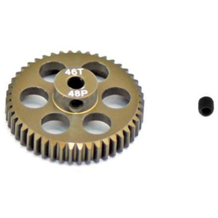 ARROWMAX Pinion Gear48P 46T(7075 Hard)(AM-348046)