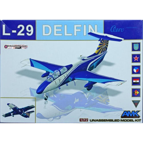 AMK 1/72 AERO L-29 DELFIN - Hearns Hobbies Melbourne - AMK
