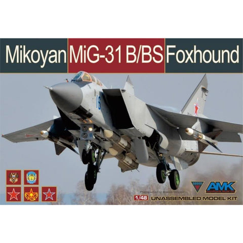 AMK 1/48 MIKOYAN MIG-31B/BS FOXHOUND - Hearns Hobbies Melbourne - AMK