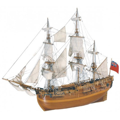 ARTESANIA 1/60 HMS Endeavour Wooden Ship Model (ART-22516)