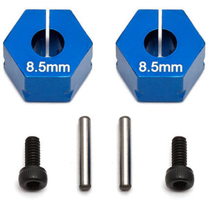 ASSOCIATED FT Clamping Wheel Hexes, 8.5 mm for B6.1,B6.1D,T