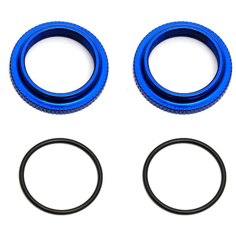 ASSOCIATED 12 mm Threaded Collars - Hearns Hobbies Melbourne - ASSOCIATED
