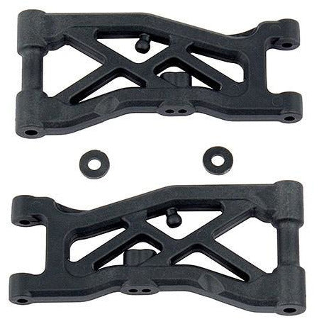 ASSOCIATED RC10B74 Front Suspension Arms, hard (ASS92129)