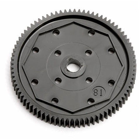ASSOCIATED Spur Gear, 81T 48P for ,B64, (ASS9651)