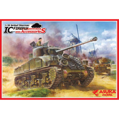 ASUKA 1/35-028 Sherman Firefly lc w/access - Hearns Hobbies Melbourne - ASUKA