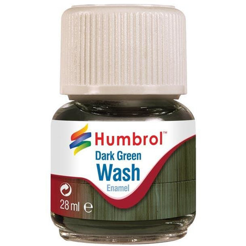 Image of HUMBROL 203 - Dark Green Wash 28ml