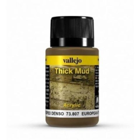 VALLEJO Weathering Effects  European Thick Mud 40 ml (AV73807)