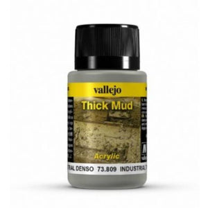 VALLEJO Weathering Effects Industrial Thick Mud 40ml (AV73809)