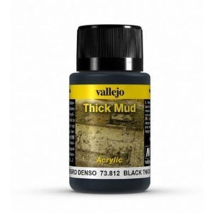 VALLEJO Weathering Effects Black Thick Mud 40ml (AV73812)