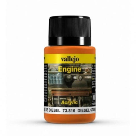 VALLEJO Weathering Effects Diesel Stains 40ml (AV73816)