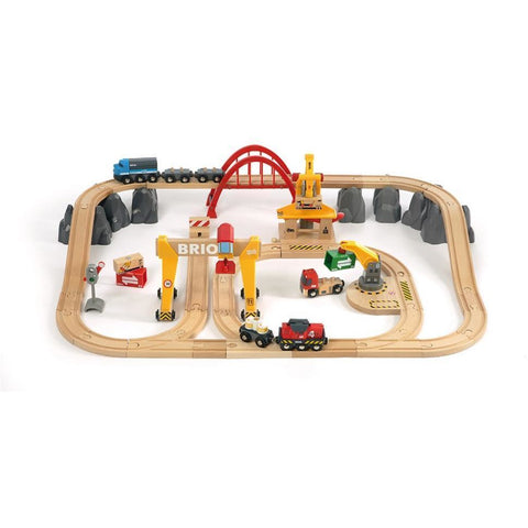 BRIO - Cargo Railway Deluxe Set 54 pieces (B33097)