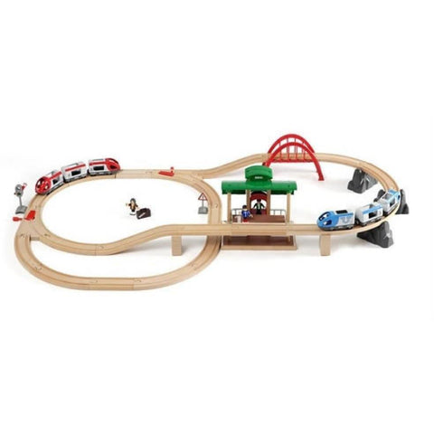 BRIO - Travel Switching Set 42 pieces (B33512)