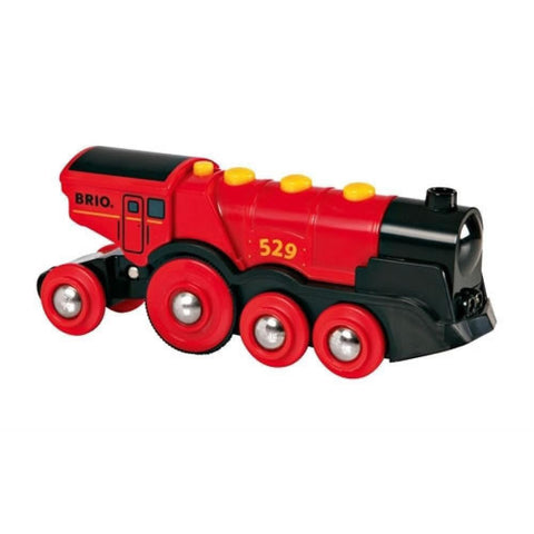 BRIO - Mighty Red Action Locomotive (B33592)