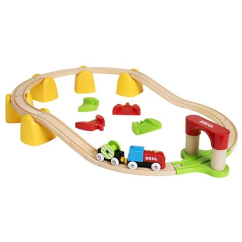 BRIO - My First Railway B/O Train Set 25 pcs (B33710)