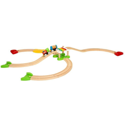 BRIO - My First Railway Beginner Pack 18 pcs (B33727)