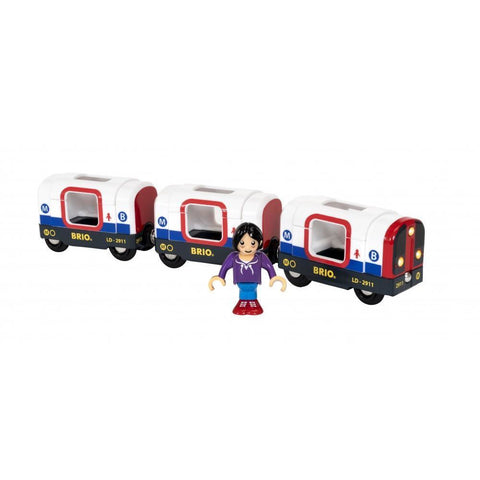 BRIO - Metro Train 4 pieces (B33867)