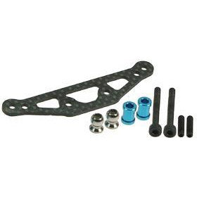 3RACING Graphite Shock Tower Stiffener TT01