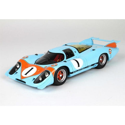 Image of BBR 1:18 Porsche 917 Saloon 1969 with Case