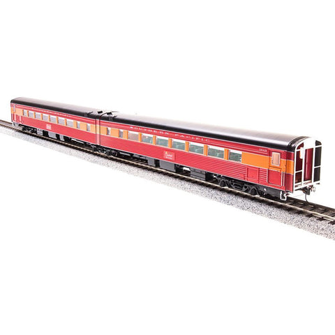 SP Coast Daylight Passenger Car, Articulated Chair W #2470 / Chair M #2469 (2-Car Set) with Antenna