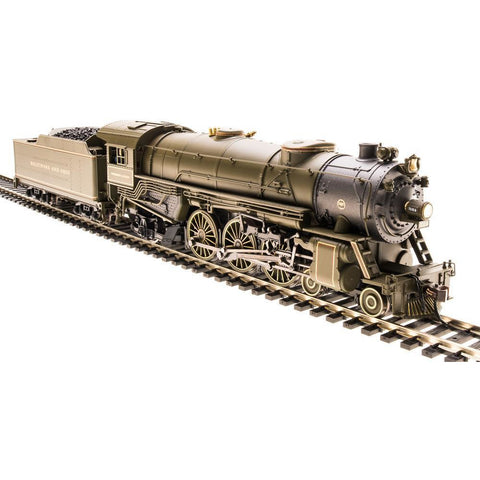 BROADWAY LIMITED Heavy Pacific 4-6-2, B&O #5314, President Lincoln, Paragon2 Sound/DC/DCC, HO - Hearns Hobbies Melbourne - BROADWAY LIMITED