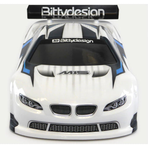 Image of BITTYDESIGN M15 Clear 1/10 TC body