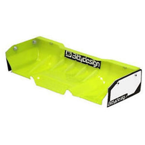 BITTYDESIGN Zefirus Yellow Lexan wing for 1/8 buggy-truggy