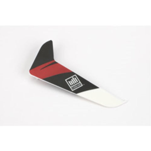 Blade Vertical Finw/Red Decal: 120sr - Hearns Hobbies Melbourne - BLADE
