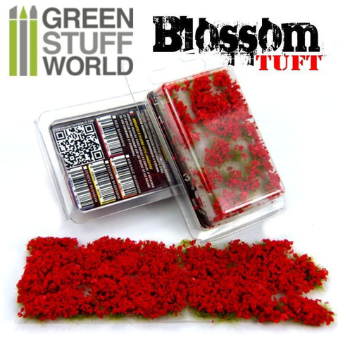 Image of GREEN STUFF WORLD Blossom Tufts - 6mm Self-Adhesive Red