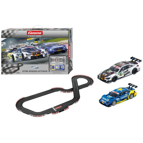 CARRERA Evo - DTM Speed Attack Set - Mercedes Coupe - Hearns Hobbies Melbourne - CARRERA