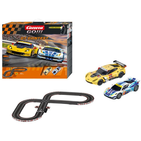 Image of GO!!! GT Contest Slot CARRERA Set - Hearns Hobbies Melbourne - CARRERA