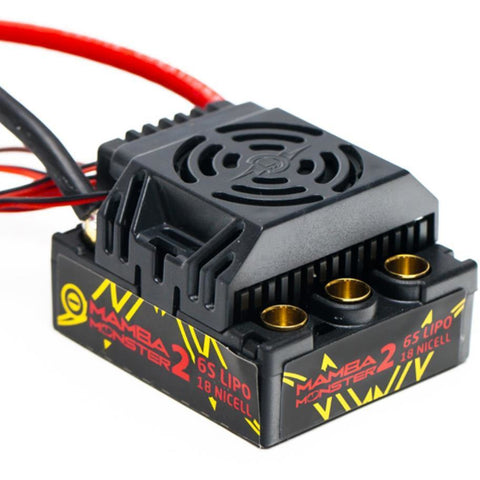 MAMBA MONSTER 2 1:8TH 25V EXTREME CAR ESC, WATERPROOF