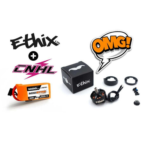 CNHL 6x 6 Cell Lipo & 4x MrSteele Stout Motors Bundle