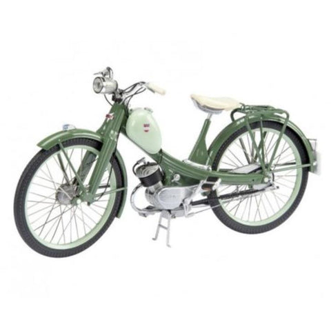 SCHUCO 1:10 Pushbike NSU Quickly Green (Motorised) D4506625