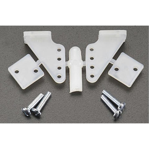 DUBRO 107 1/2 A CONTROL HORNS (2 PCS) - Hearns Hobbies Melbourne - Dubro