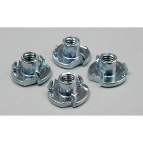 DUBRO 136 BLIND NUTS 6-32 (4 PCS PER PACK) - Hearns Hobbies Melbourne - Dubro