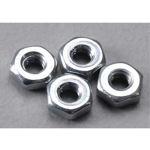 DUBRO 2103 2MM HEX NUTS (4 PCS PER PACK)