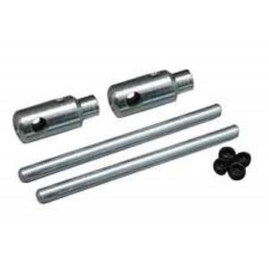 DUBRO 614 E/Z ADJUST AXLE 1-1/4in X 5/32in (2 PCS PER PACK) - Hearns Hobbies Melbourne - Dubro