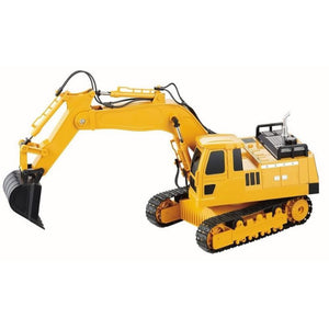DOUBLE EAGLE 1/20 RC Excavator w/Lights & Sound 2.4GHz